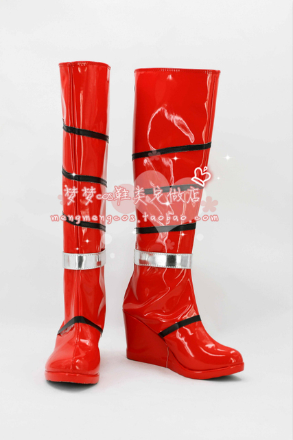 Customize boots LOL The Will of the Blades Irelia Cosplay Boots Shoes