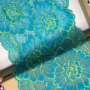 1 ярдов в ширину 22 см Высокое качество кружева ткань кружева платье Ткань DIY