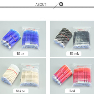 Image 5 - 100pcs High Temperature Vanishing Refill Fabric+PU Cloth Factory Professional Ironing Heating Disappear Refill Office Stationery