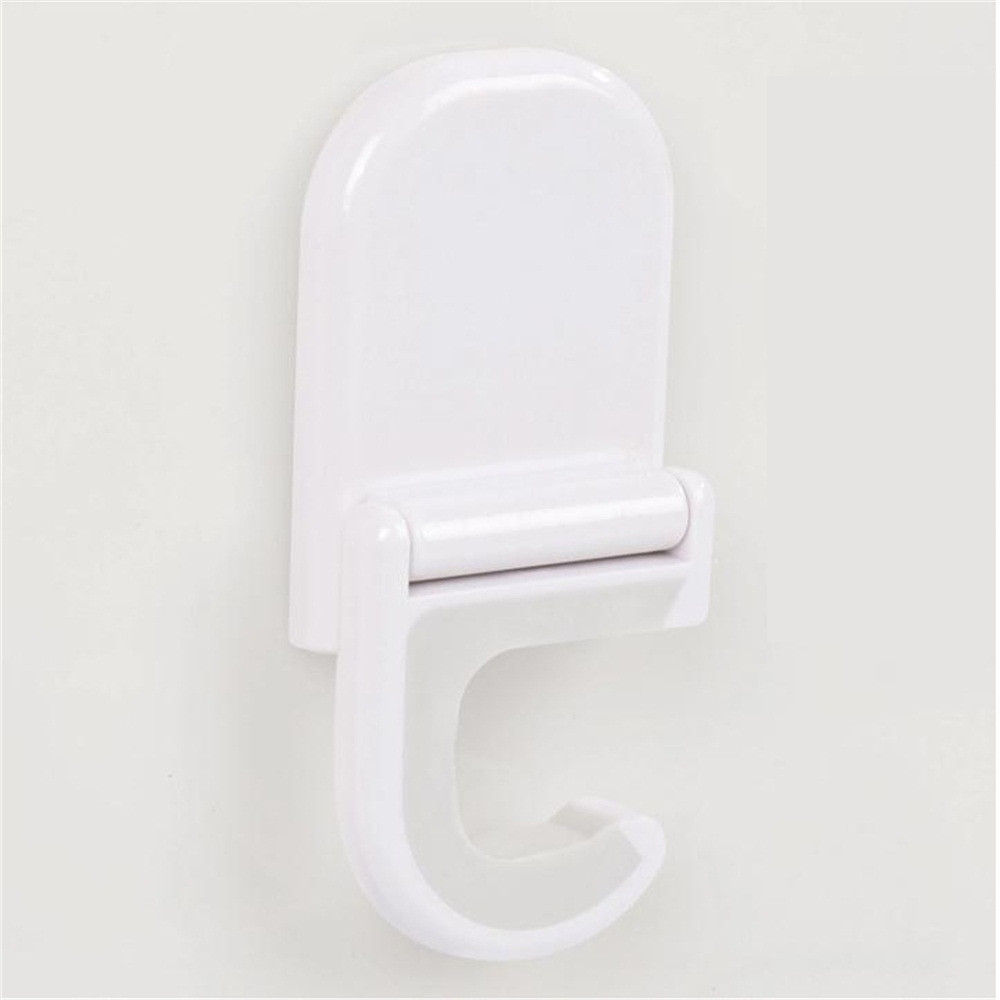 2017 Home adhesive support Broom ladle handed Wall clip hook white hooks for walls #1212 *