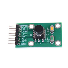 5D Rocker Joystick Independent Keyboard for Arduino Joystick Module Five Direction Navigation Button Module for MCU AVR Game(China)