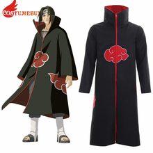 5b1d44c730c44 CostumeBuy Anime Naruto capa bata cabo Naruto Akatsuki Cosplay disfraces  L920