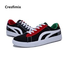 Cresfimix zapatos hombre male fashion comfortable high quality spring lace up shoes men cool stylish autumn black shoes c3094