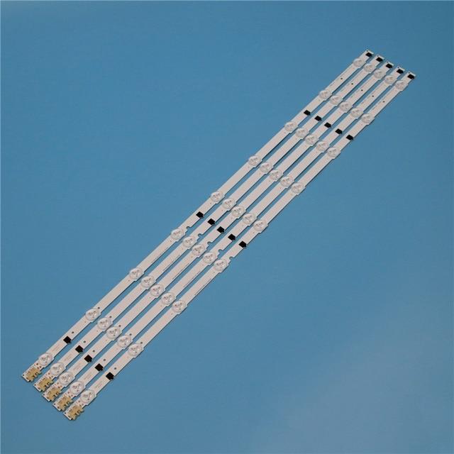 9 Lamps LED Backlight Strip For Samsung UA32F5000AR UA32F5100AR UA32F5300AR UA32F5500AR UA32F6100AR Bars Kit Television LED Band