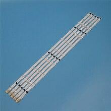 9 lâmpadas led backlight strip para samsung ua32f5000ar ua32f5100ar ua32f5300ar ua32f5500ar ua32f6100ar kit barras de televisão led banda