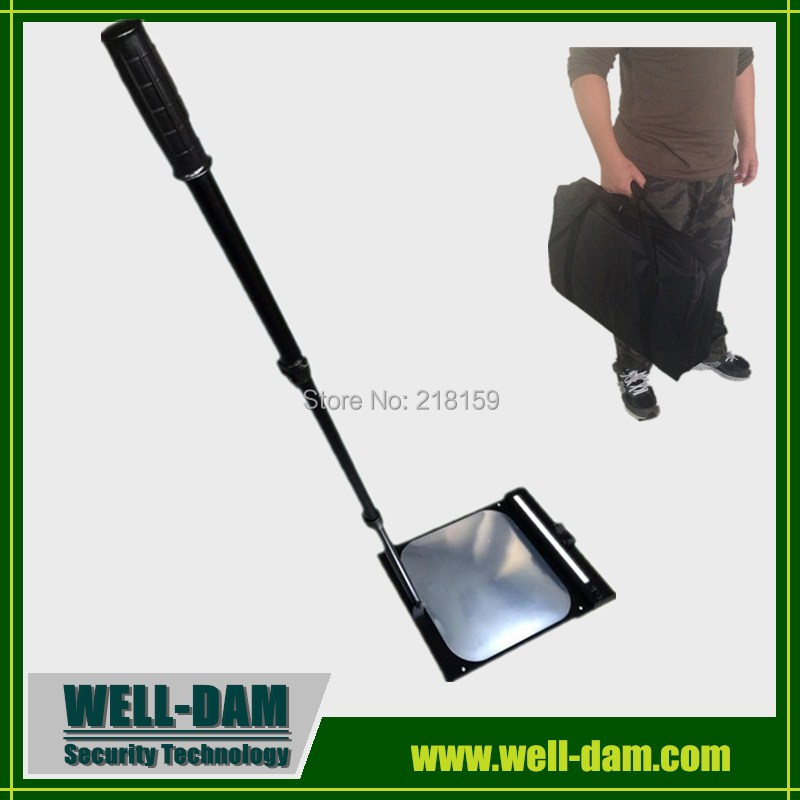 WD-MT2 hand held under car inspection mirror convex security mirrors цена