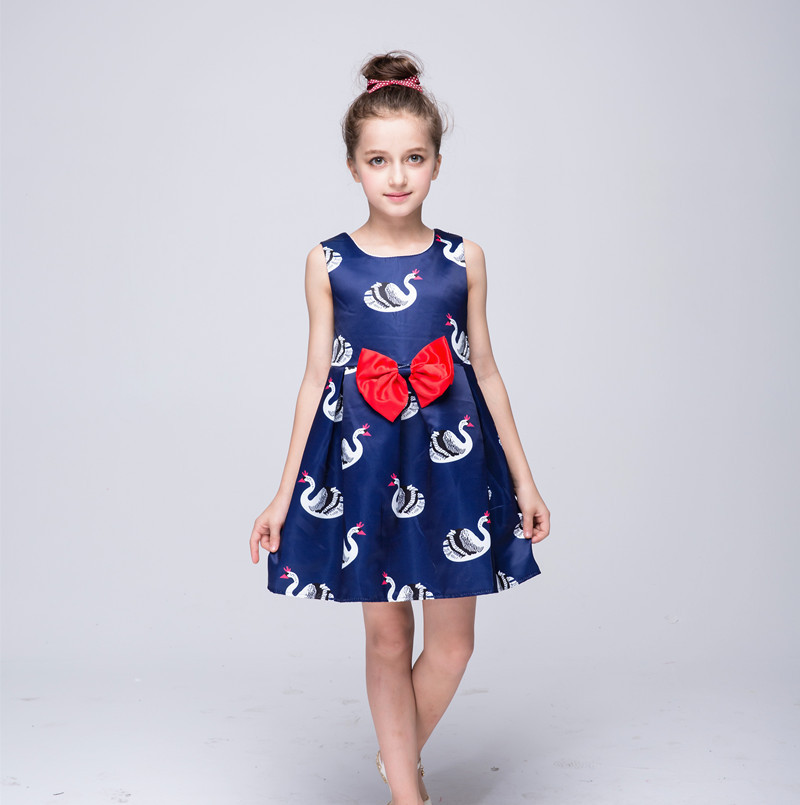 The girl new dress spring summer for 4 5 6 7 8 9 10 11 12 years European child princess tutu fashion clothes