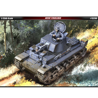 1/35 German 35t light tank with etch piece military assembly model 13280