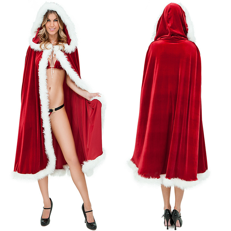 Sexy Halloween Christmas Costumes For Women Adult Santa Claus Costumes Little Red Riding Hood Cloak Fancy Dress 1pce Coak-in Holidays Costumes from Novelty ...  sc 1 st  AliExpress.com & Sexy Halloween Christmas Costumes For Women Adult Santa Claus ...