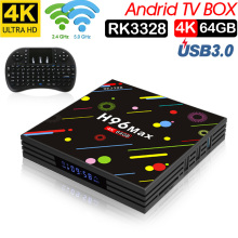 лучшая цена Xinwaysh96 max rk3328 tv box android tv box smrat tv box chipset 4gb ram 64gb rom Original Android 7.1 2.4/5G Wifi H.265 set box