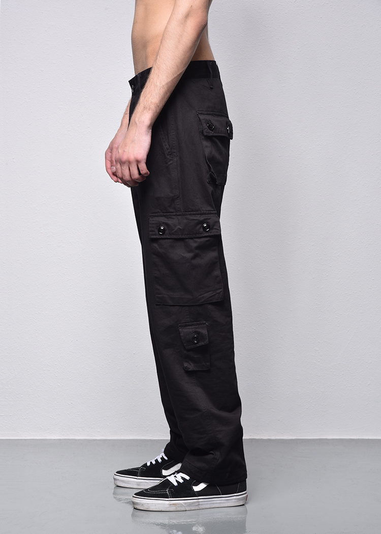 Mens Casual Pants Spring Autumn Cargo Pants Plus Size Solid Cotton High Quality Military Trousers 2018 New Arrive Loose clothing