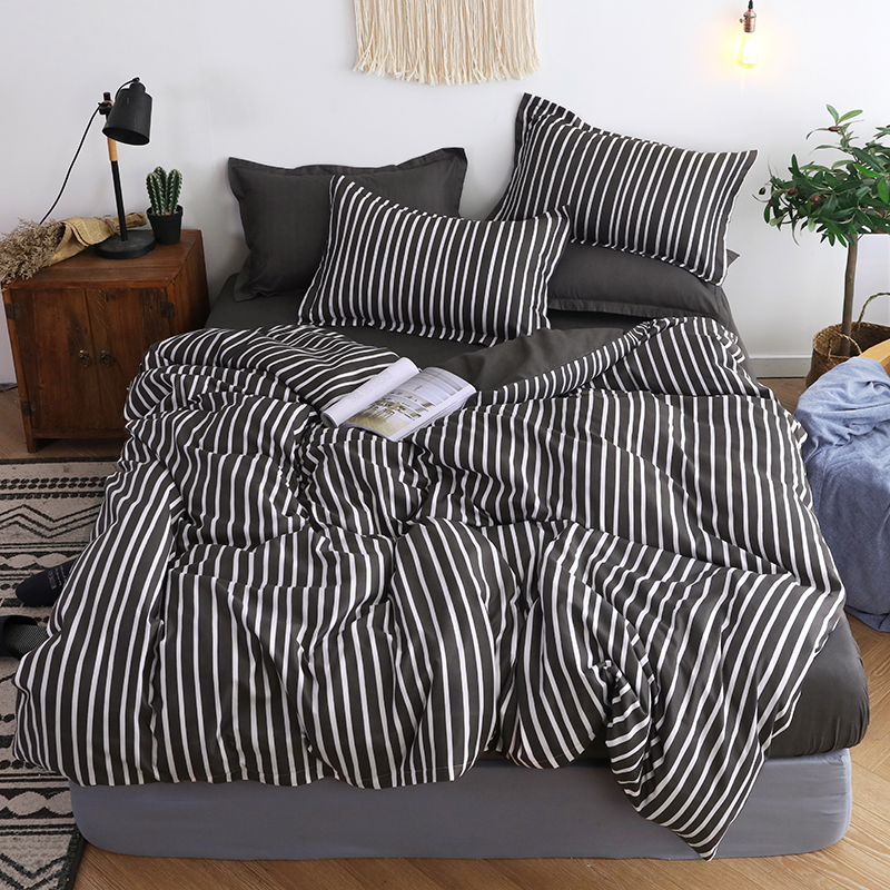 Single/Double Bed Flat Sheet AB Side Bedding Set Twin Full Queen King Size High-quality  Winter Thickening