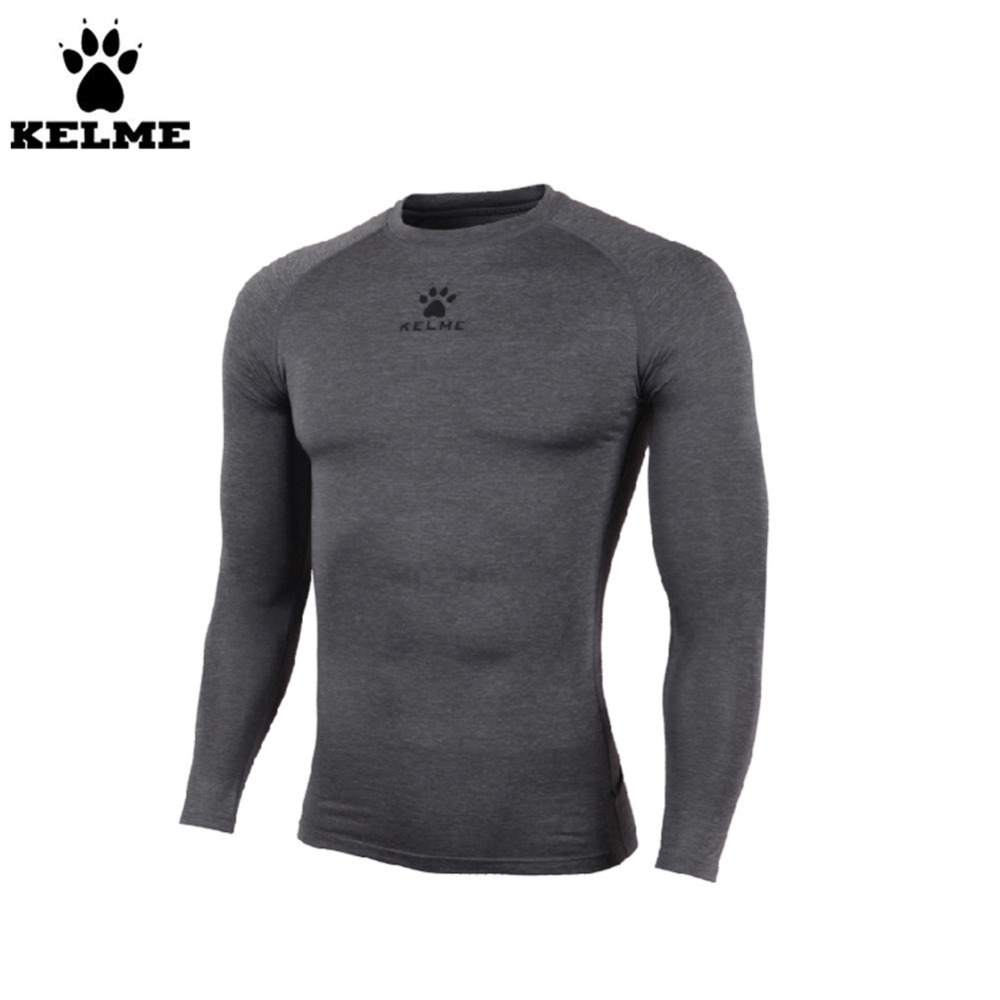 Kelme K15Z734 veste droite à manches longues pour enfants gris foncé