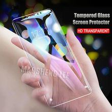 2 ピース/ロットフル強化ガラスシャオ mi mi max 3 Pro のスクリーンプロテクター 9 H 2.5D アンチブルーレイ強化ガラスシャオ mi mi max 3