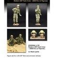 Os Kits de resina Resina 1/35 Kits Moder IDF Tanque Tripulação Resina Soldados Frete Grátis 2 Valores Estabelecidos
