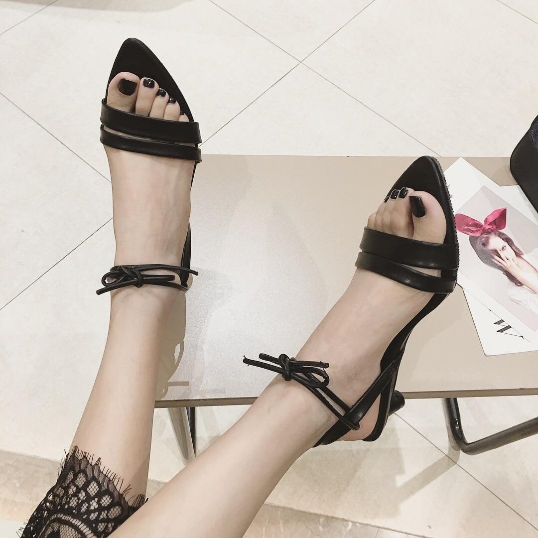 4215G new thin belt Roman shoes wearing stiletto heel womens shoes4215G new thin belt Roman shoes wearing stiletto heel womens shoes