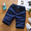 Fashion Summer Style Beach Men Shorts Loose Beading Drawstring Men Short Pants Sport Clothes Shorts Men Sliver 2016 MQ286