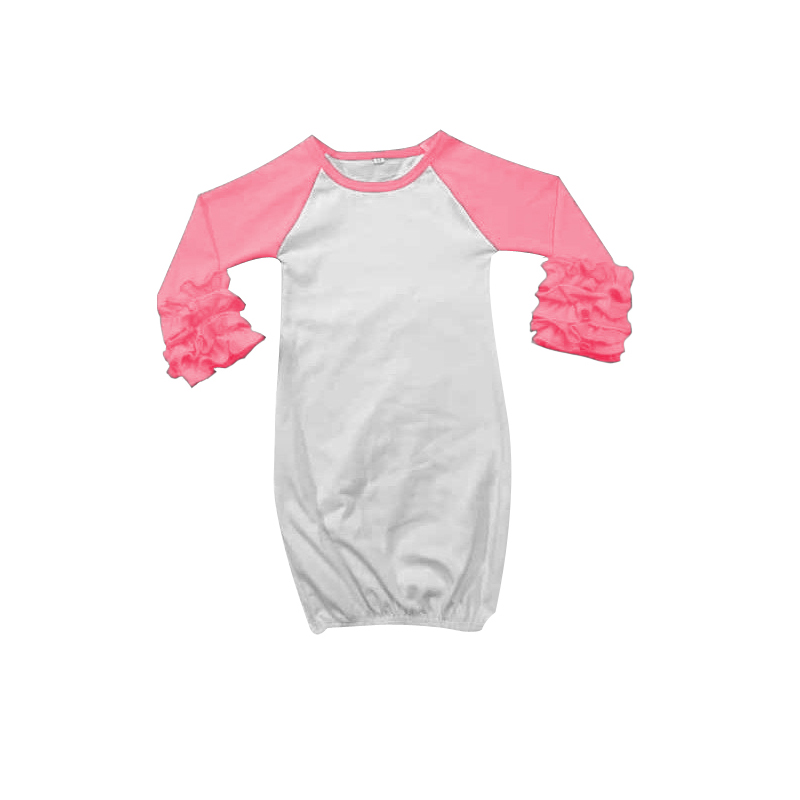 hot pink newborn coming home outfit newborn sleeping gown baby ...