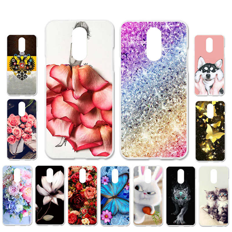 Ojeleye DIY Patterned Silicon Case For LG Q Stylo 4 Case Soft TPU Cartoon Phone Cover For LG Q Stylus Covers Anti-knock Shell