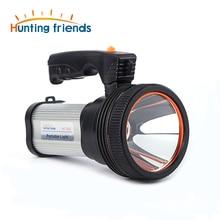 Супер яркая переносная Светодиодная лампа (Встроенная литий-ионная батарея 9000ма) + usb-кабель + плечевой ремень черный/серебристый/золотой цвет вариант