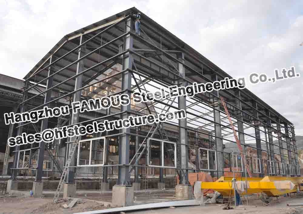 Ce Certificate Iso 9001 Metal Buildings Structural Steel