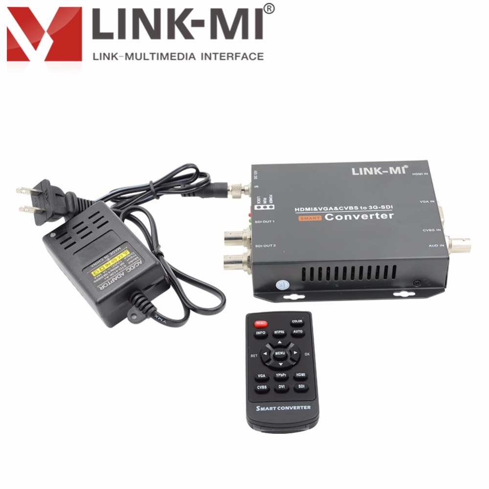 LINK-MI LM-CV190 HD-SDI 200m 3G-SDI 120m HDMI VGA CVBS v SD / HD / 3G - Domači avdio in video - Fotografija 2