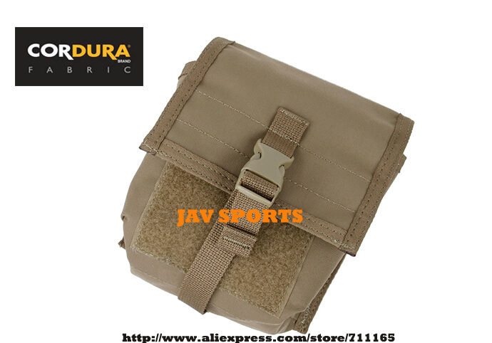 TMC NVG Battery Pouch Cordura Matte Coyote Brown Pouch Night Vision Goggles Battery Pouch+Free shipping(SKU12050726)