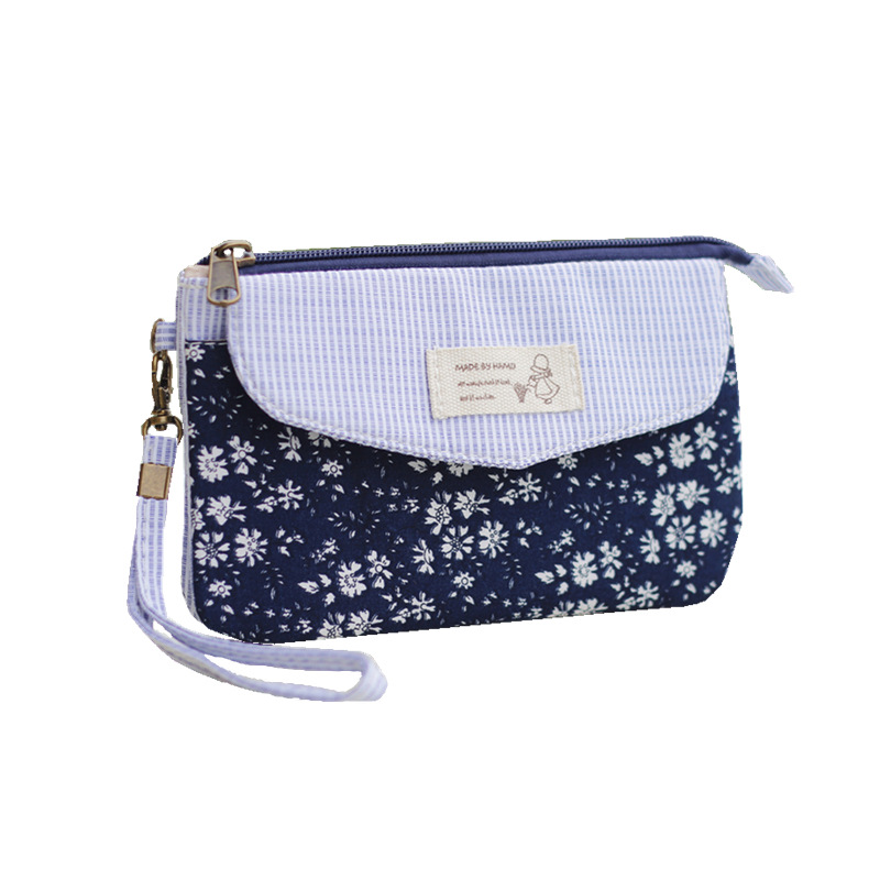 Day Clutches Floral-Printing Handbag Ladies Small-Phone Female Mini Women Bolso for Girls