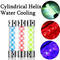 LED Aluminum Cover T Virus Rotating Water Tank Computer Liquid PC Water Cooling New Computer water cooling Cooler For CPU