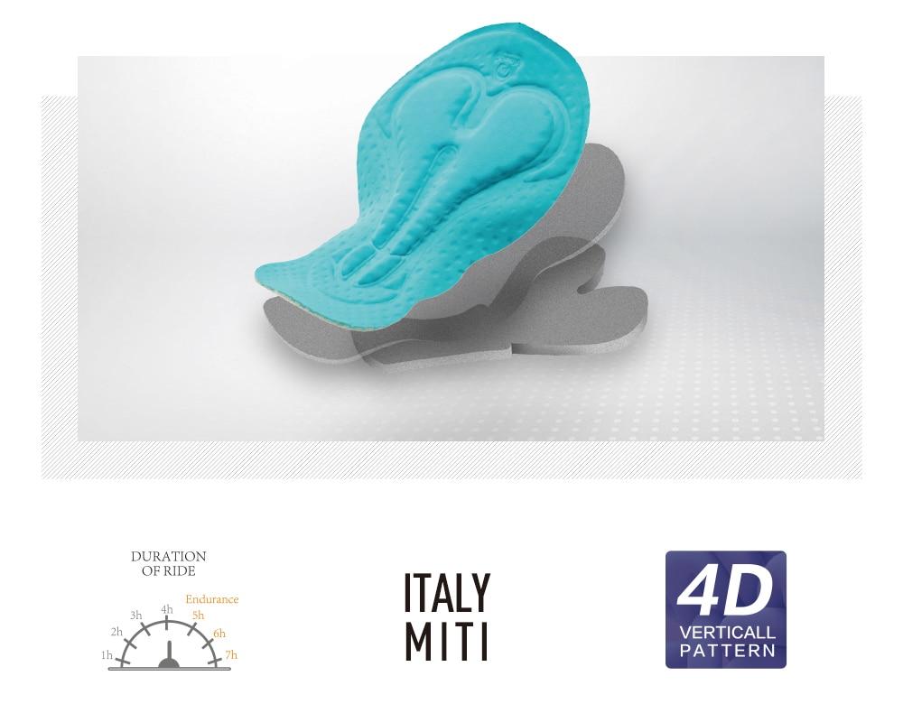 Santic Men Cycling Padded Shorts Race Fit Italian Imported DOLOMITI-FM1507 Pad Italian MITI P-CLOTH Cycling Clothings M7C05083