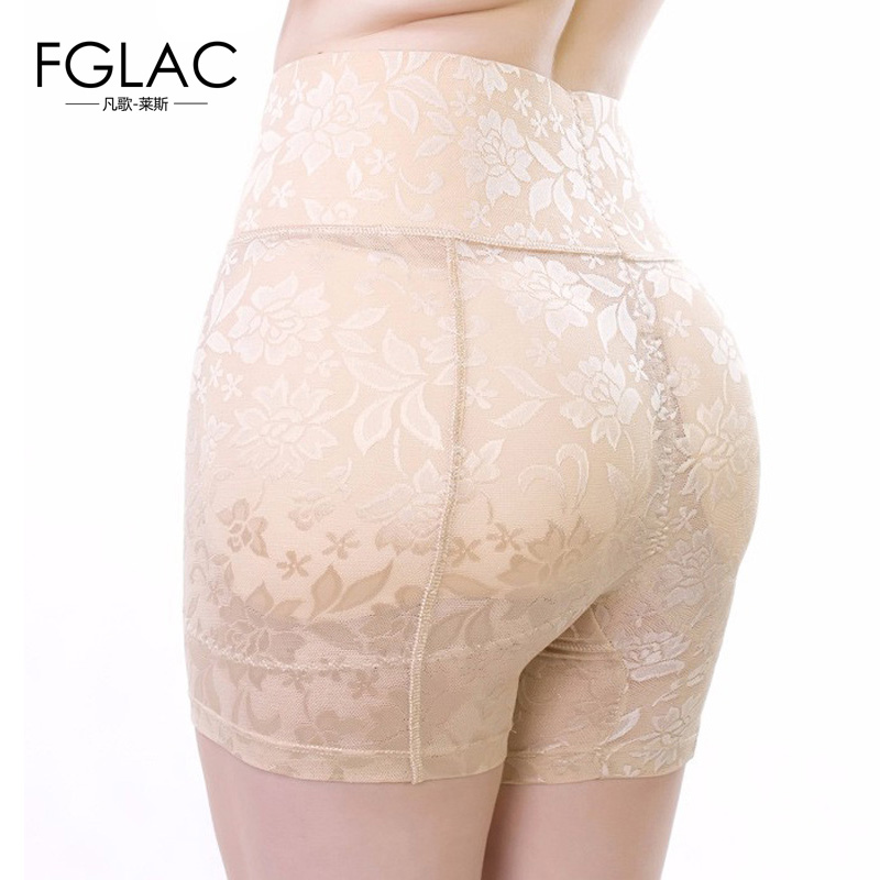 New control panties fashion sexy lace breathable buttock underwear lace anti emptied high waist abundant fake