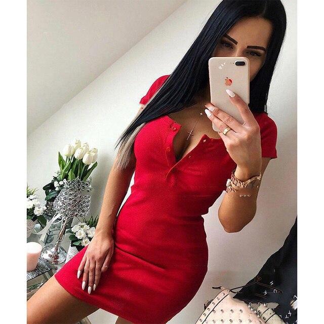 Σέξι καλοκαιρινό μίνι φόρεμα Φορέματα Ρούχα MSOW