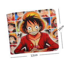 Luffy Law Ace Short Wallet With Card Holder