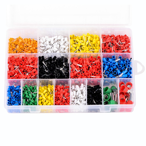 Image 4 - 2120pcs Insulated Cord Pin End Terminals Tin Plated Copper Crimp Connector Ferrules Kit Set For 22 5AWG