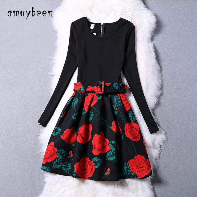 d568e5f2c Amuybeen Girls Dresses Kids Summer Princess Casual Solid Party ...