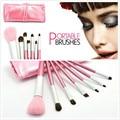 sayoo 2017 New 7PCS Beauty Foundation Eyebrow Eyeshadow Cosmetic Make Up Brushes Set