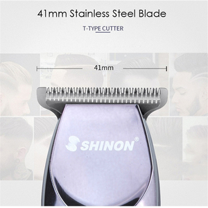 Image 2 - Professional Precision Hair Clipper Rechargeable Electric Hair Trimmer 0.1mm Cutting Barber Styling Tool Shaving Haircut Machine