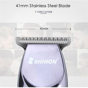 Image 2 - Profesyonel Hassas Saç Kesme Şarj Edilebilir Elektrikli Saç Düzeltici 0.1mm Kesme Berber Şekillendirici Aracı Tıraş Saç Kesimi Makinesi