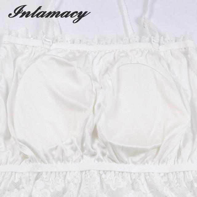 The New 100% real Silk Sling Bra Stitching Lace Bra Top With Bra Strap Length Activities