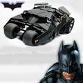 Dois Em Um Incrível Batman Batmobile Tumbler Toy Figura de Ação PVC Com Adesivo Como O Presente