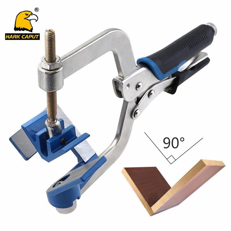 10 Inch Woodworking Clamps 90 Degree Corner Clamp Aluminum C Type Vise Grip Quick Locking Pliers Carpenter Hand Tools