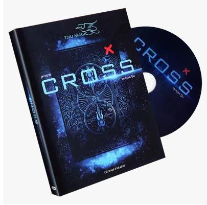 "Free shipping! Cross (DVD & Gimmicks) ""Bonus Pack"" by Tjiu - Card Magic Trick,mentalism,illusions,Stage Magic,Close Up,Comedy"