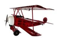 فوكر dr. i النسخة كاملة 770 ملليمتر جناحيها البلسا الخشب اعطابها warbird rc طائرة للأطفال جودة عالية rc اللعب