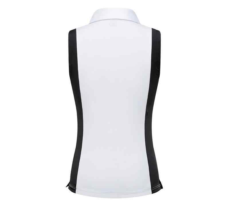 2019 летняя одежда для гольфа Женская футболка без рукавов быстросохнущие дышащие рубашки с лацканами и короткими рукавами тонкая спортивная одежда топы s-xl