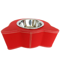 Pet Stainless Steel Dog Bowl Water Dispenser Food Storage Feeder Cat Dishes Container Voederbak Hond Dog Feeding Bowl 50A0581