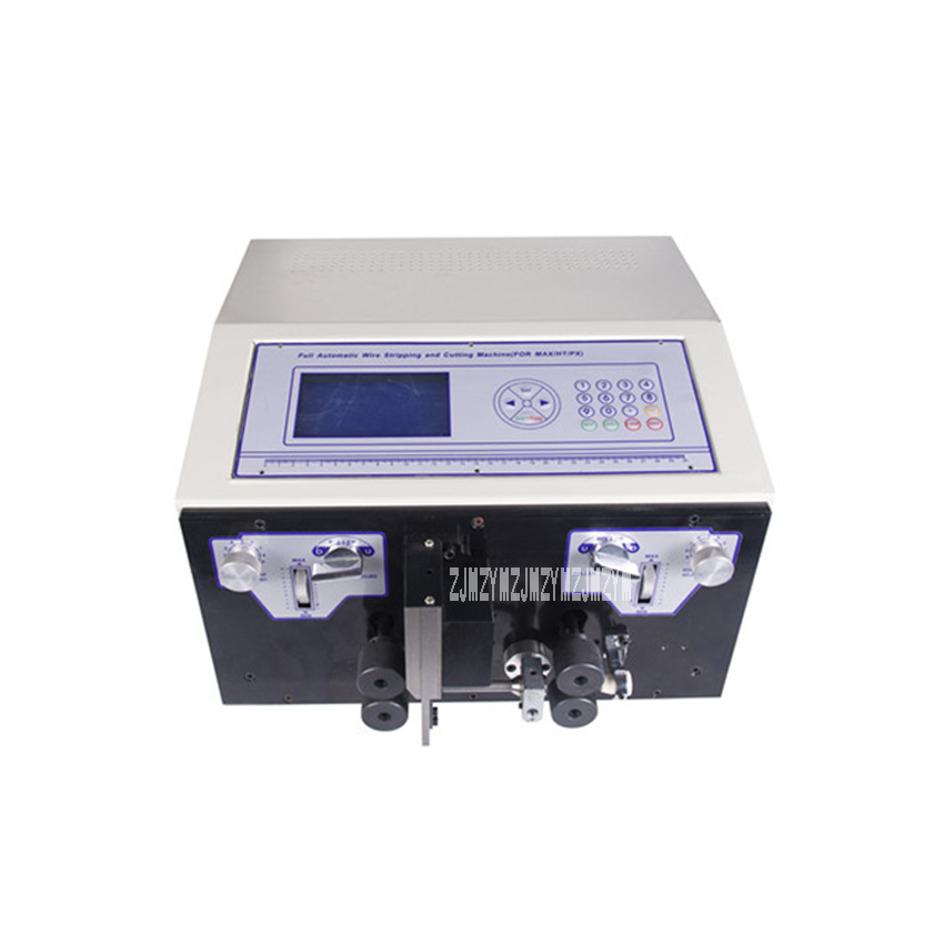 New SWT508-HT Sheathed Wire Automatic Computer Stripping Machine/Cutting Machine 110V/220V 300W 4000-10000 Strips/Hour 0.1- 6mm2