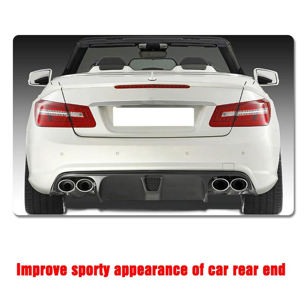 Carbon Fiber / FRP Black Car Bagkofanger diffuser Lip Spoiler - Bilreservedele - Foto 3