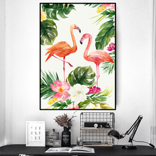 Nordic style landscape painting, art canvas, painting posters, impression, bird photos, modern life room decoration TZ043