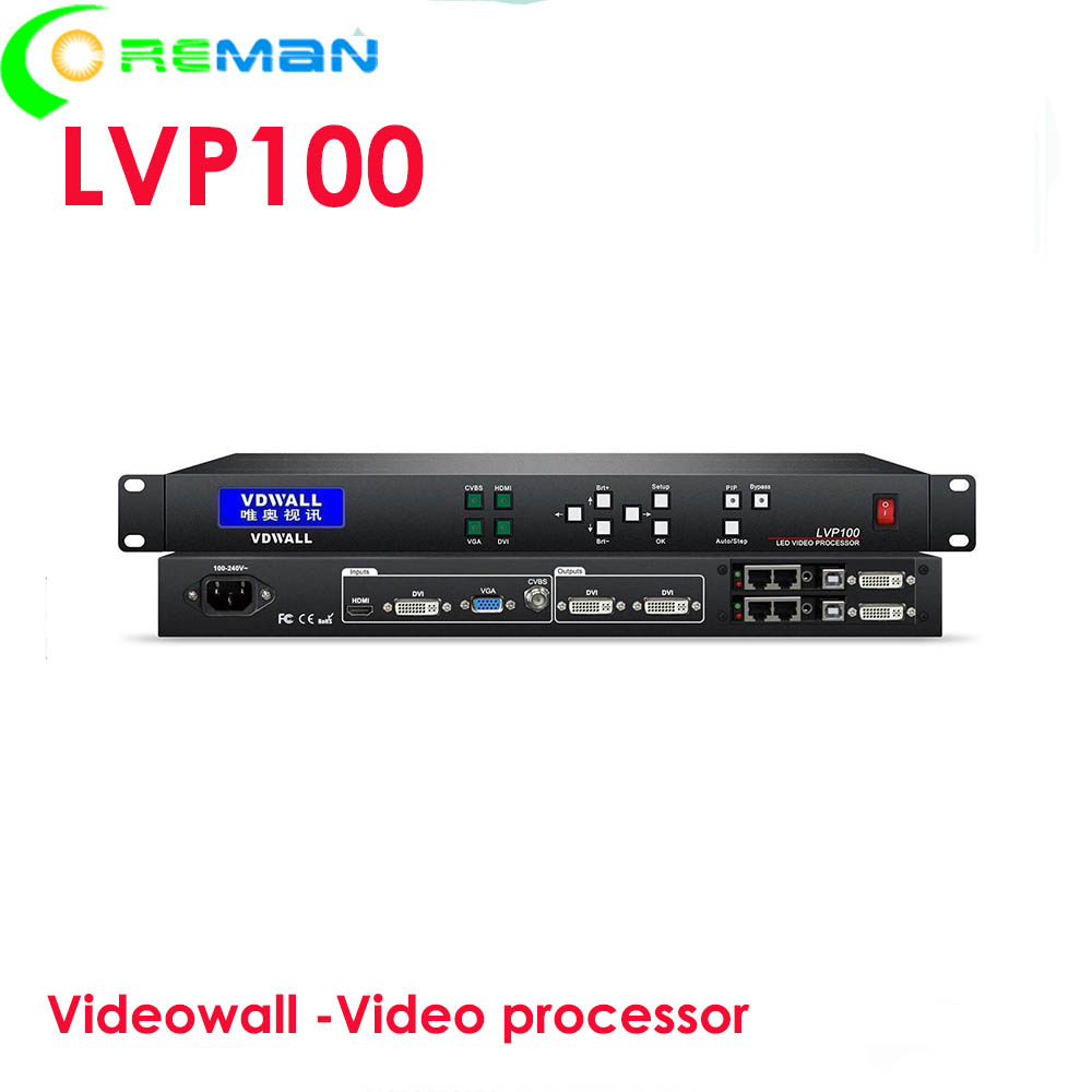Big small led display led screen led video wall video processor lvp100 stable function cheap price