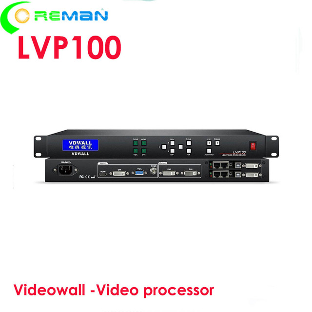P1 P2 P2.5 P3 P4 HD led תצוגת led מסך וידאו מעבד lvp100 זול מחיר led וידאו קיר וידאו מעבד lvp100